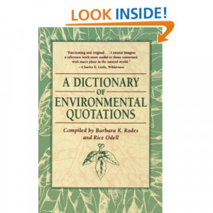 Best Environmental Quotes