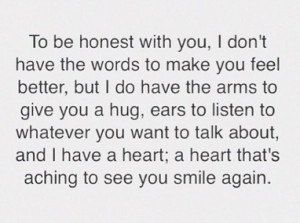 ill always be there #when im gone #quote #smile