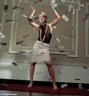 Carly Fiorina after her $21.1 million severance pay