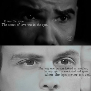 ... for this image include: derek morga, eyes, love, Matthew and quotes