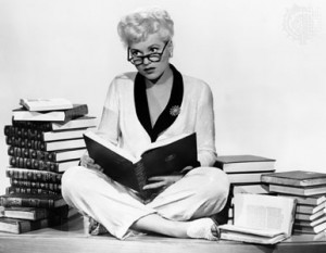 Judy Holliday in pub still for Born Yesterday (1950) for which she won ...