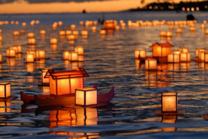 Lantern Floating Hawaii - Evento das Lanternas Orientais Flutuantes