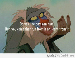 Inspiring quote from The Lion King