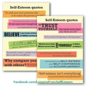 Self Esteem Quotes - Join us for tips, strategies, suggestions and ...