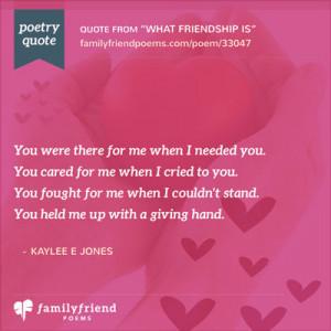 Best Friend 4ever!, Goodbye Poem by Teens