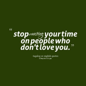 Quotes About Wasting Time