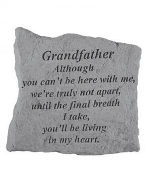 Grandfather Memorial Stone, Small