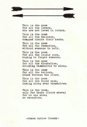 ... , Andrew Crosby, Poems, Beautiful, James Andrew, Living, Love Quotes