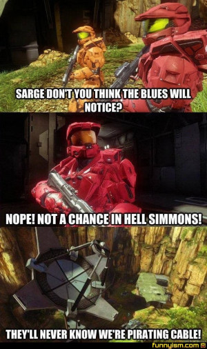 Red Vs Blue Funny