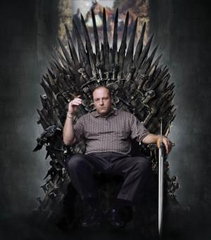 Tony Soprano Game of Thrones Iron Throne James Gandolfini
