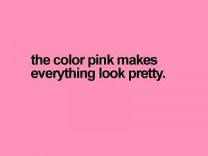 pink, pretty, quote