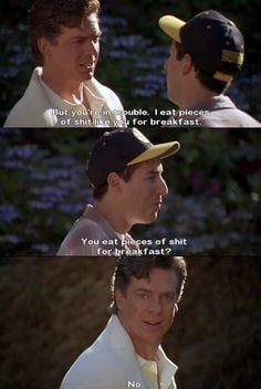 Happy Gilmore funny movie quote, Adam Sandler.