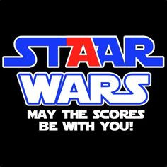 STAAR WARS - May The Scores be with You! (Screen Print)