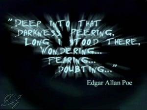 famous edgar allan poe quotes