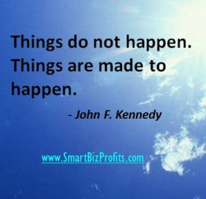 inspirational graphics John F. Kennedy Quotes