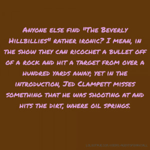 Funny Jed Clampett Quotes