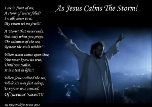 As Jesus Calms The Storm picture