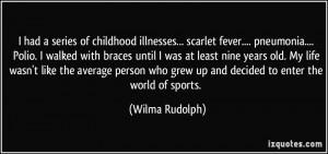 Wilma Rudolph Quotes