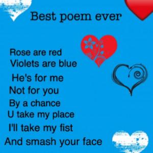 The Best Meme Poem Ever