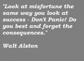 More of quotes gallery for Walt Alston's quotes
