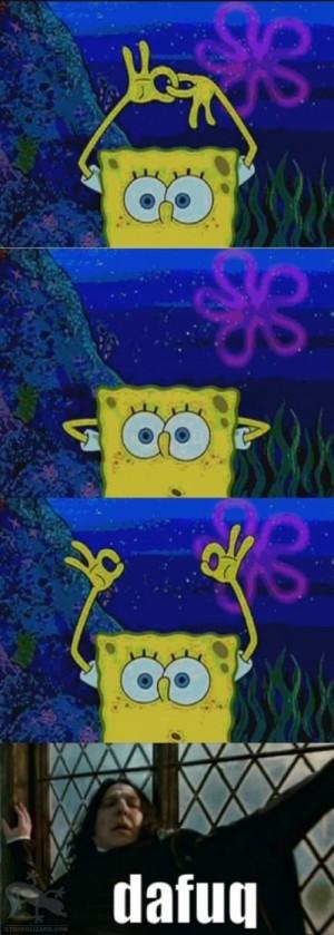 Awesome SpongeBob trick