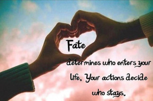 Fate Quotes and Sayings