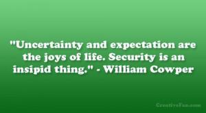 William Cowper Quote