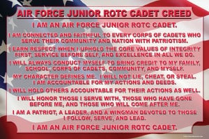 Converse Judson Junior ROTC Cadet Creed 24