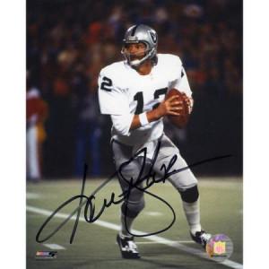 NFL - Ken Stabler Oakland Raiders 8x10 Autographed Photograph