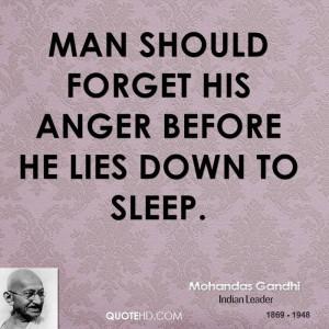 Mohandas Gandhi Anger Quotes | QuoteHD