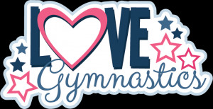 Cool Gymnastics Backgrounds Love gymnastics svg scrapbook