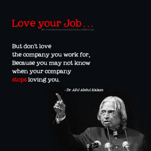 Love your job but don't love the company you work for,