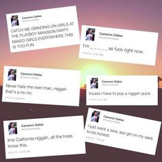 Cams' old tweets More