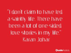 Karan Johar Quotes