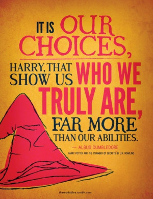 Enjoyed the pic ..Harry Potter quotes. I really miss reading these ...