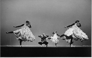 Merce Cunningham Dance Company performance of Antic Meet, 1958 ...