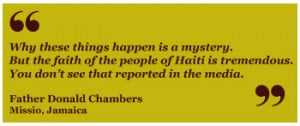 Haiti Earthquake Quote