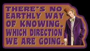 In life, we won't know, no one knows what direction life would take ...