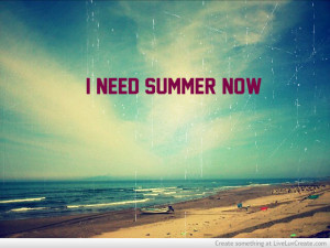 Summer Come Faster