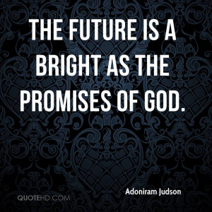 Adoniram Judson Quotes