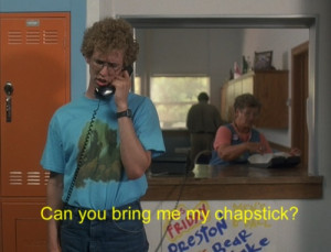 Napoleon dynamite quotes chapstick wallpapers