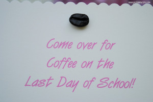 Coffee Party Invitations. Pre K Graduation Party Invitations . View ...