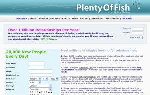 Site rencontre plenty fish