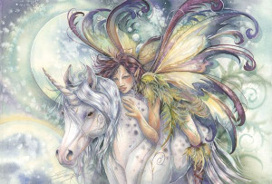 love unicorns and fairies