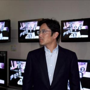 la imagen lee jae yong hijo del presidente samsung electronics lee kun