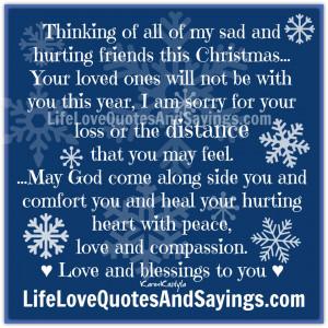 Thinking Of All Of My Sad ..