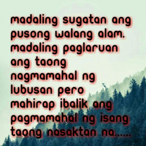 Tagalog sad love quotes for him Sad Love Quotes images Wallpapers ...