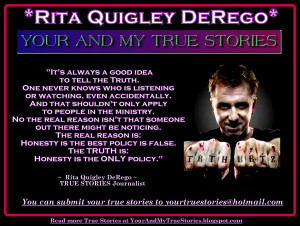 TRUE STORY: Cult or Sociopath Victim? => Tell Rita Quigley DeRego Your ...