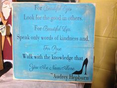 ... Hepburn/breakfast at Tiffany's quote by CreativeMemoriesbysh, $30.00