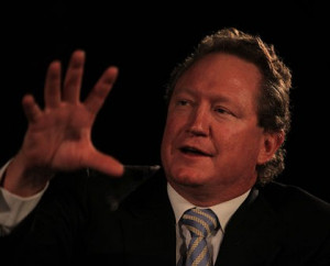 Andrew Forrest ... ''I really believe in Aboriginal people''.